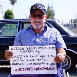 Korean-War-Veteran-Holding-Sign-To-Support-Colin-Kaepernick
